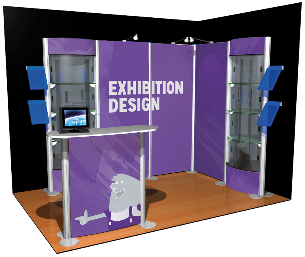 Marketing Exhibition Stand Xo : Exhibition stands green roua