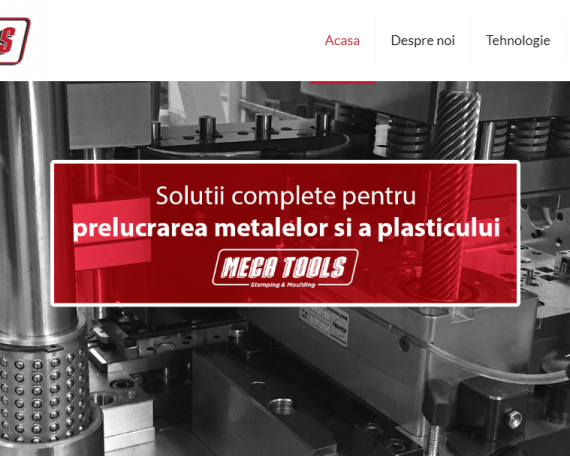 Meca Tools Website